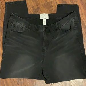 Lane Bryant Girl With Curves Size 18 Skinny Jeans